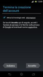 Sony Xperia T - Applicazioni - Configurazione del negozio applicazioni - Fase 11