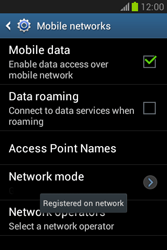 Samsung Galaxy Fame Lite - Network - Manual network selection - Step 12