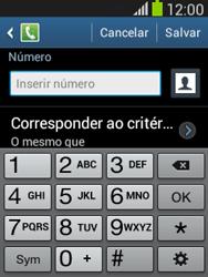 Samsung S5310B Galaxy Pocket Neo - Chamadas - Como bloquear chamadas de um número específico - Etapa 10