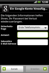 HTC Explorer - Apps - Konto anlegen und einrichten - 10 / 19