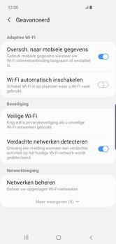 Samsung Galaxy S10 Plus - wifi - schakel Wi-Fi Assistentie uit - stap 10