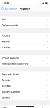 Apple iPhone XS - iOS 13 - Apps - Eine App deinstallieren - Schritt 4