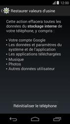 Acer Liquid E600 - Téléphone mobile - réinitialisation de la configuration d