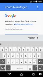 Sony Xperia X (F5121) - Android Nougat - E-Mail - Konto einrichten (gmail) - Schritt 10