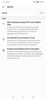 Huawei Mate 20 Lite - wifi - schakel Wi-Fi Assistentie uit - stap 9