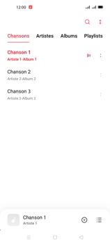 Oppo A72 - Photos, vidéos, musique - Ecouter de la musique - Étape 6