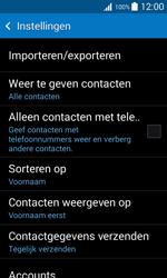 Samsung Galaxy Trend 2 Lite (SM-G318H) - Contacten en data - Contacten kopiëren van toestel naar SIM - Stap 7