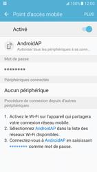 Samsung Galaxy S7 - Internet et connexion - Partager votre connexion en Wi-Fi - Étape 11