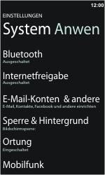 Nokia Lumia 610 - E-Mail - Konto einrichten - 0 / 0