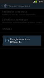 Samsung Galaxy S 4 Active - Réseau - Sélection manuelle du réseau - Étape 9