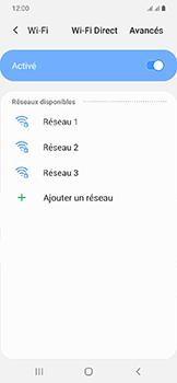 Samsung Galaxy A20e - Internet et connexion - Accéder au réseau Wi-Fi - Étape 7