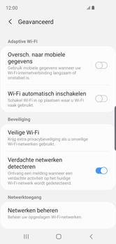 Samsung Galaxy S10e - wifi - schakel Wi-Fi Assistentie uit - stap 11