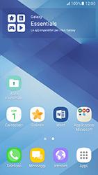 Samsung Galaxy A3 (2017) - Operazioni iniziali - Installazione di widget e applicazioni nella schermata iniziale - Fase 3