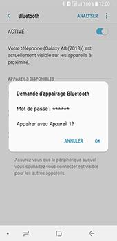 Samsung Galaxy A8 - Internet et connexion - Connexion avec un équipement multimédia via Bluetooth - Étape 9