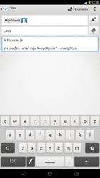 Sony C6833 Xperia Z Ultra LTE - E-mail - hoe te versturen - Stap 10