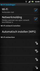 Sony ST25i Xperia U - WiFi - Handmatig instellen - Stap 10