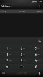 HTC One Mini - Anrufe - Anrufe blockieren - Schritt 3