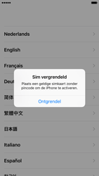 Apple iPhone 6S iOS 9 - Toestel - Toestel activeren - Stap 3