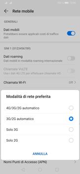 Huawei P30 Pro - Rete - Come attivare la connessione di rete 4G - Fase 6