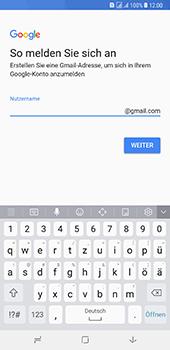 Samsung Galaxy A8 Plus (2018) - Apps - Konto anlegen und einrichten - 10 / 19