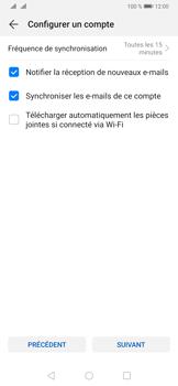 Huawei P30 - E-mail - 032b. Email wizard - Yahoo - Étape 8