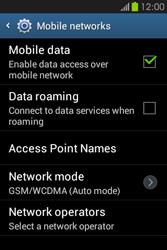 Samsung S6810P Galaxy Fame - Internet - Manual configuration - Step 7