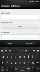 HTC One - E-mail - Account instellen (IMAP zonder SMTP-verificatie) - Stap 11