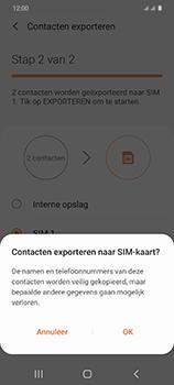 Samsung Galaxy S20 5G Dual-SIM eSIM SM-G981B - Contacten en data - Contacten kopiëren van toestel naar SIM - Stap 12