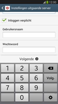 Samsung N9005 Galaxy Note III LTE - E-mail - Account instellen (POP3 met SMTP-verificatie) - Stap 13
