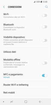Samsung Galaxy S8 - Android Oreo - Internet e roaming dati - Come verificare se la connessione dati è abilitata - Fase 5