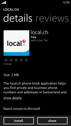 HTC Windows Phone 8X - Applications - Installing applications - Step 8