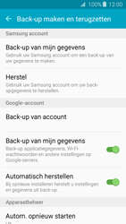 Samsung Galaxy J3 (SM-J320FN) - Instellingen aanpassen - Back-up maken in je account - Stap 6