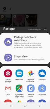 Samsung Galaxy A20e - Photos, vidéos, musique - Envoyer une photo via Bluetooth - Étape 11