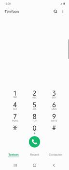 Samsung Galaxy Z Flip - voicemail - handmatig instellen - stap 4