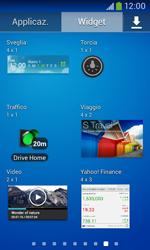 Samsung Galaxy Ace III - Operazioni iniziali - Installazione di widget e applicazioni nella schermata iniziale - Fase 6