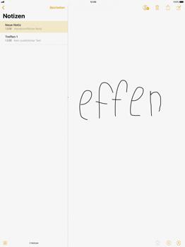 Apple iPad Pro 12.9 inch - iOS 11 - Neue Funktionen der Notizen - 2 / 2