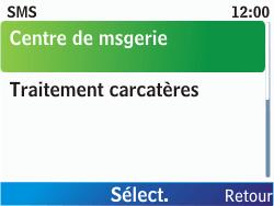 Nokia C3-00 - SMS - Configuration manuelle - Étape 7