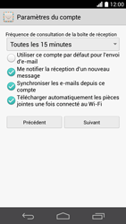 Huawei Ascend P6 LTE - E-mail - Configuration manuelle (yahoo) - Étape 8