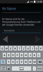 Samsung Galaxy J1 - Apps - Konto anlegen und einrichten - 5 / 19