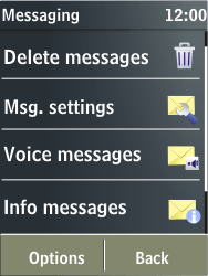 Nokia X3-02 - Voicemail - Manual configuration - Step 4