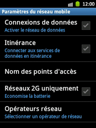 Samsung S5300 Galaxy Pocket - Internet - Configuration manuelle - Étape 6