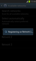 Samsung Galaxy S III Mini - Network - Manual network selection - Step 10