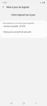 Samsung Galaxy Note 10 Lite - Aller plus loin - Mettre à jour le logiciel interne de votre mobile - Étape 8