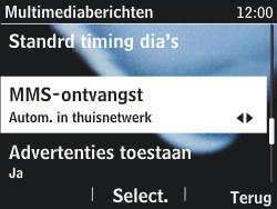 Nokia Asha 201 - MMS - probleem met ontvangen - Stap 9
