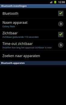 Samsung N7000 Galaxy Note - bluetooth - aanzetten - stap 6