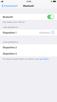 Apple iPhone 6s Plus iOS 11 - Bluetooth - Collegamento dei dispositivi - Fase 8
