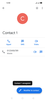 Oppo Reno 4 Pro - Contact, Appels, SMS/MMS - Ajouter un contact - Étape 8