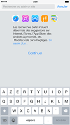 Apple iPhone 6 Plus - iOS 8 - Internet et roaming de données - Navigation sur Internet - Étape 4