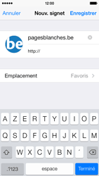 Apple iPhone 5c - Internet et roaming de données - Navigation sur Internet - Étape 16