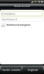 HTC S510e Desire S - E-mail - Handmatig instellen - Stap 6